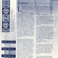 Jazzaround – 20 ans déjà !