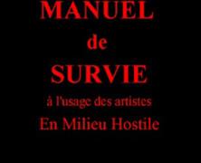 Jean-Pierre Froidebise: Manuel de survie à l'usage des artistes en milieu hostile
