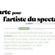 Charte Pour L'Artiste de Spectacle