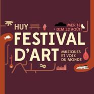 Festival d'Art de Huy  (du 18 au 22 août)